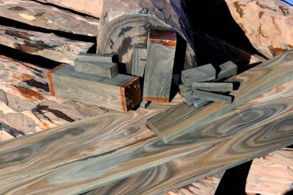 lignum vitae wood